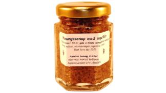 honungssenap med ingefära